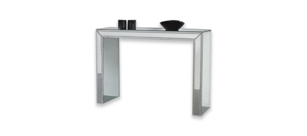Silver table console from Dupen Spain.