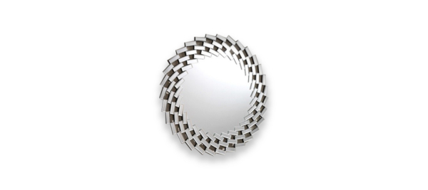 Silver mirror glass by dupen.