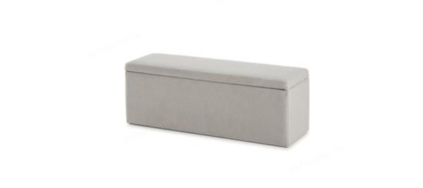 Storage space in grey color.