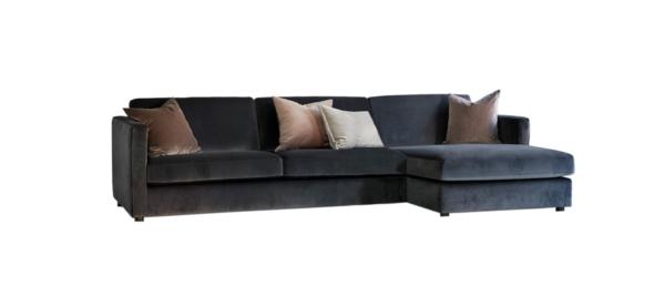 Luka linen fabric corner sofa in high quality.