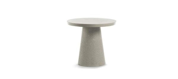 Rhette concrete outdoor table fin grey colour.