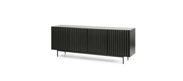 Teulat black marckerik living room sideboard.