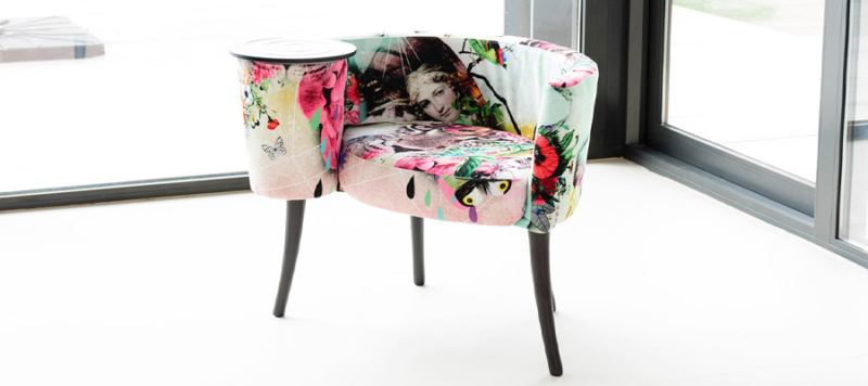 Fama armchair custom made by Fama in Spain.