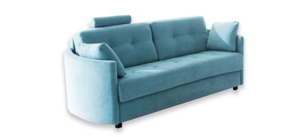 Bolero sofa bed in velvet colour.