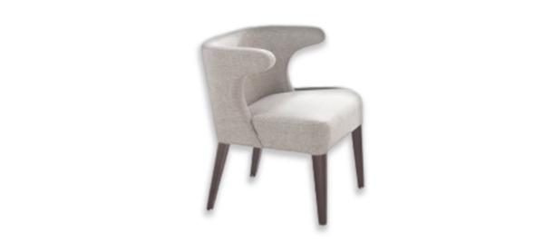 Toro grey armchair from Fama.