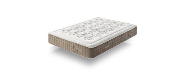 White brown dupen mattress.