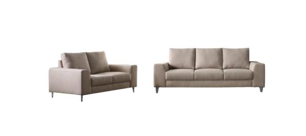 Sofa set of two.