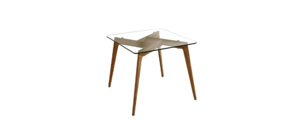Marckeric Dining table wood and glass!