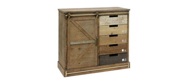 Wooden wardrobe by liberta.