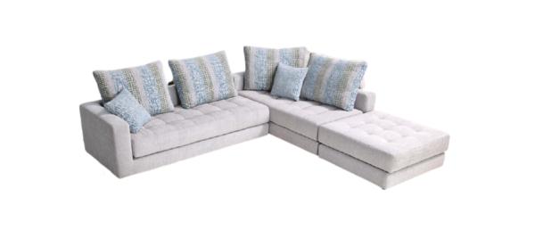 Fama corner sofa.
