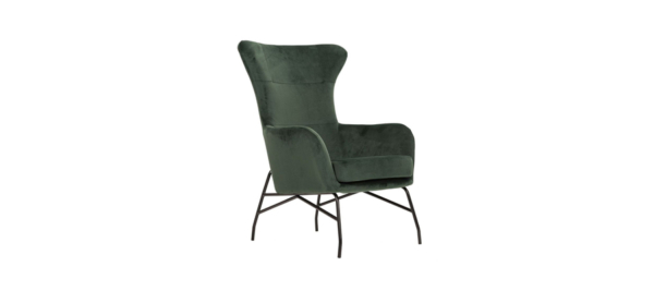 Green mono liberta armchair.