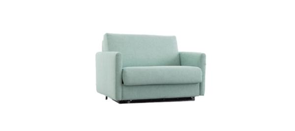 Fama Spain Green Sofa Armchair Bed.