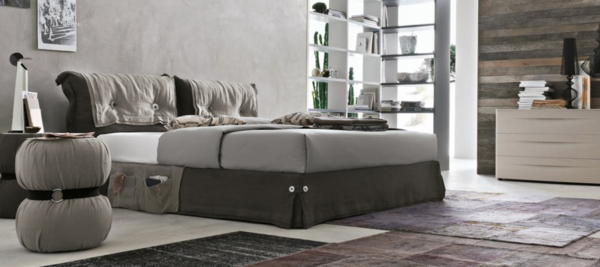 Tomasella amani fashion bed in dark colour for your bedroom.