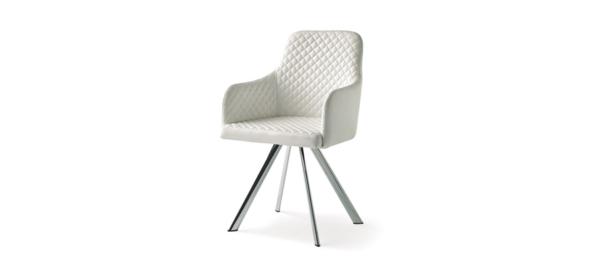 White chair.