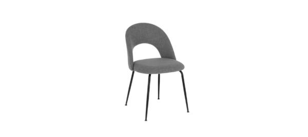 Light grey dining chair.