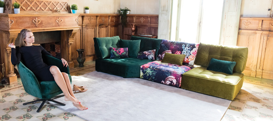 Arianne Sofa Made in Spain From Fama | Andreotti Furniture ...