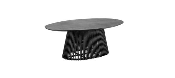 Julia grup black dining table in wood.