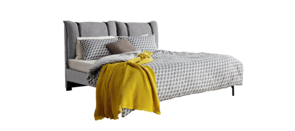 Liberta 160 x 200 bed in grey.