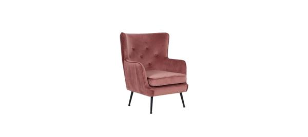 Liberta Pink Armchair.