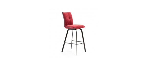 Indira red bar stool.