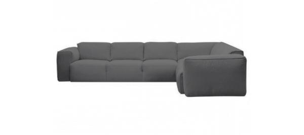 Grey theca fresno corner sofa.